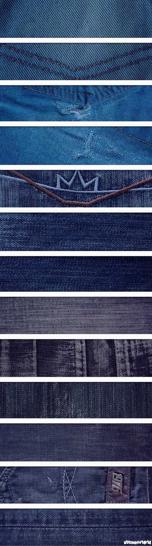 Джинсовые текстуры, часть 1