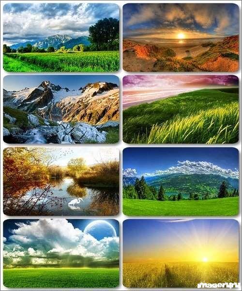 Красивые природные фоны ч.20