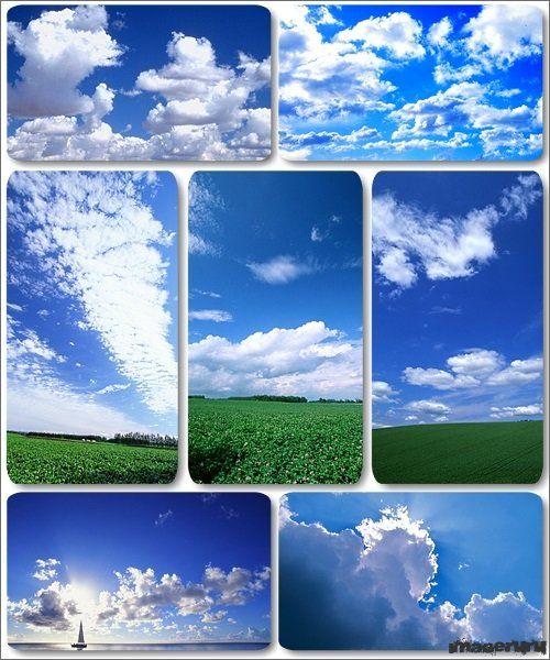Небо в облаках - 120 HD wallpapers