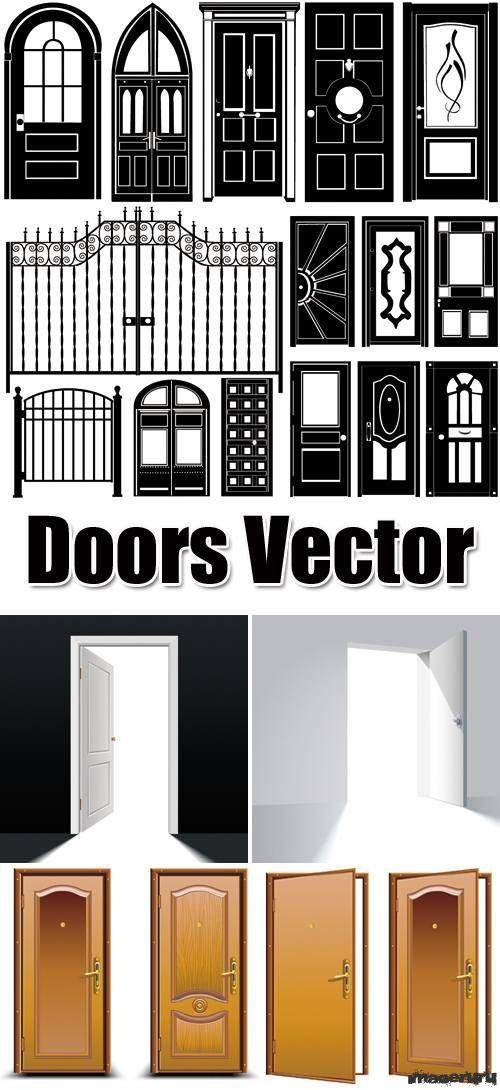 Двери в векторе