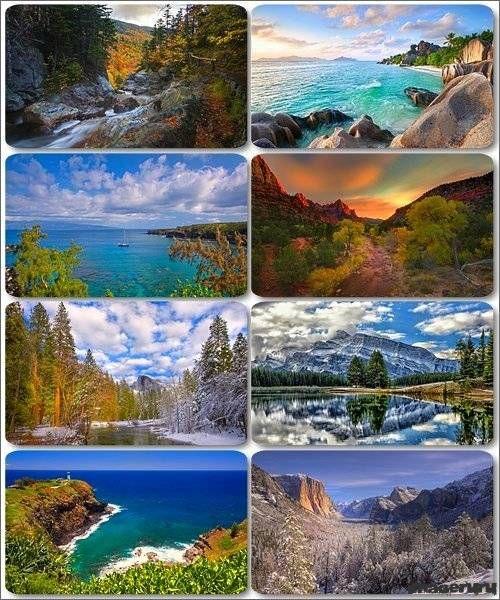 Потрясающие пейзажи природы