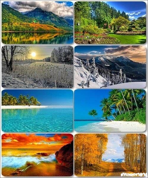 Потрясающие пейзажи природы 2
