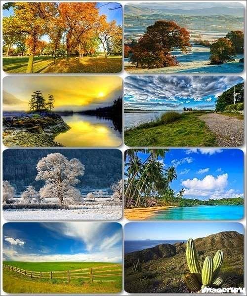 Потрясающие пейзажи природы 5