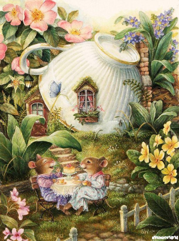 Миленько и уютненько в городке зайцев... Susan Wheeler