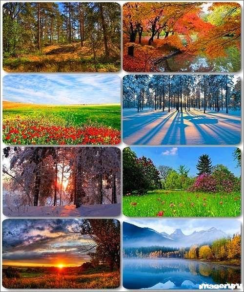 Потрясающие пейзажи природы 7