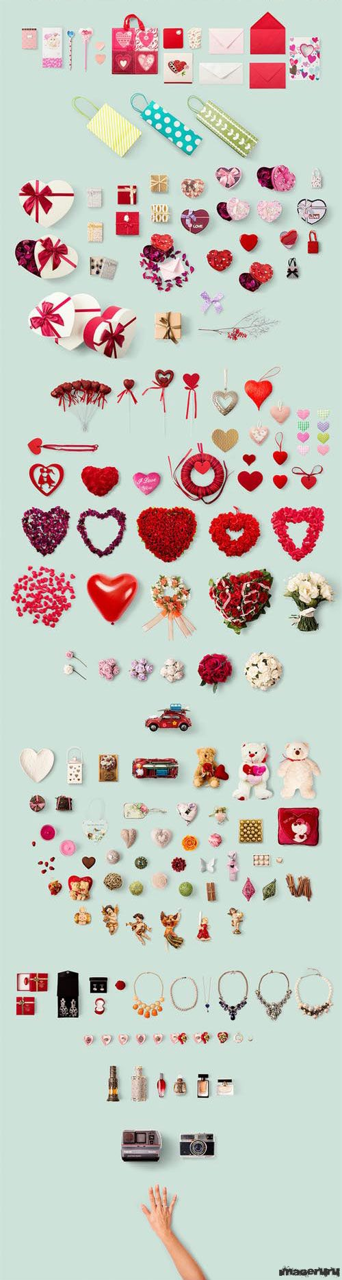 PSD шаблоны для фотошопа In Love