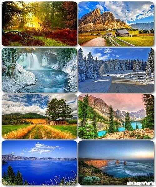 Потрясающие пейзажи природы 9