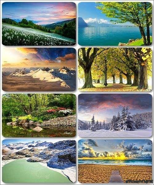 Потрясающие пейзажи природы 10