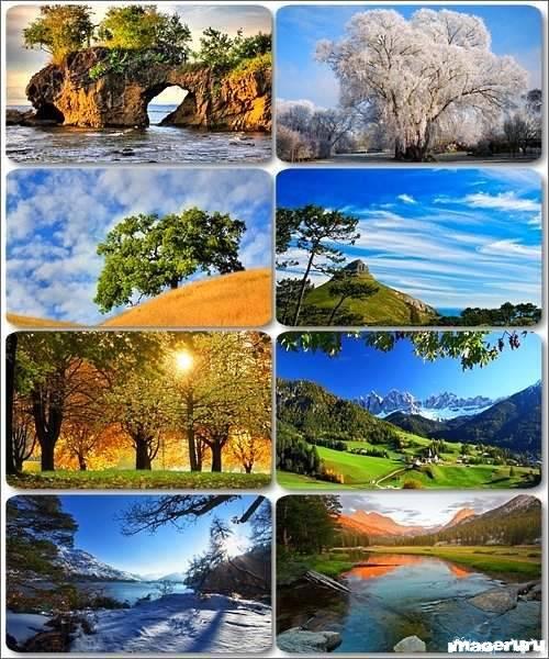 Потрясающие пейзажи природы 12