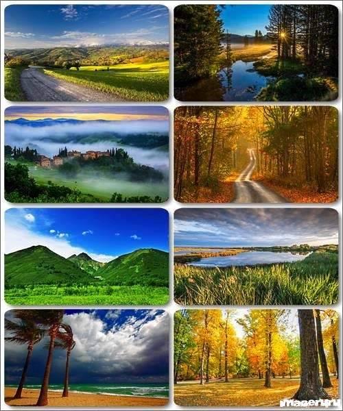 Потрясающие пейзажи природы 14