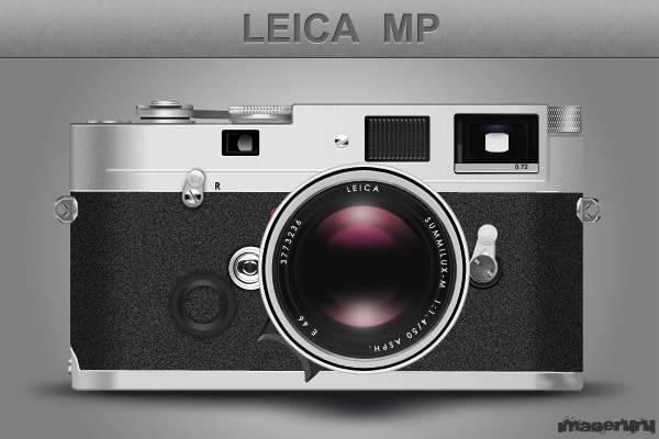 Ретро камера Leica
