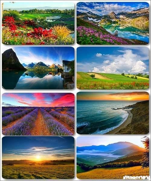 Потрясающие пейзажи природы 17