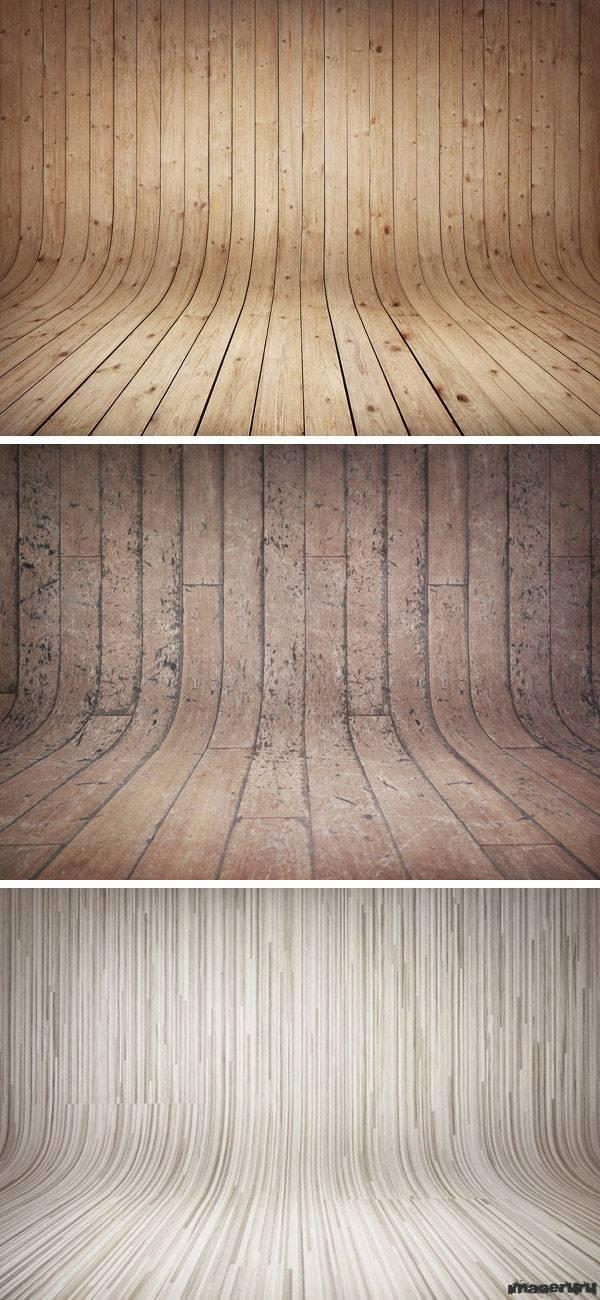 Изогнутые деревянные бэкграунды