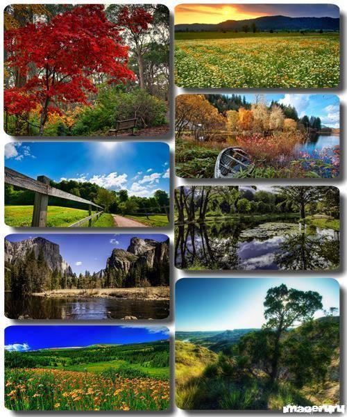 Потрясающие пейзажи природы 18