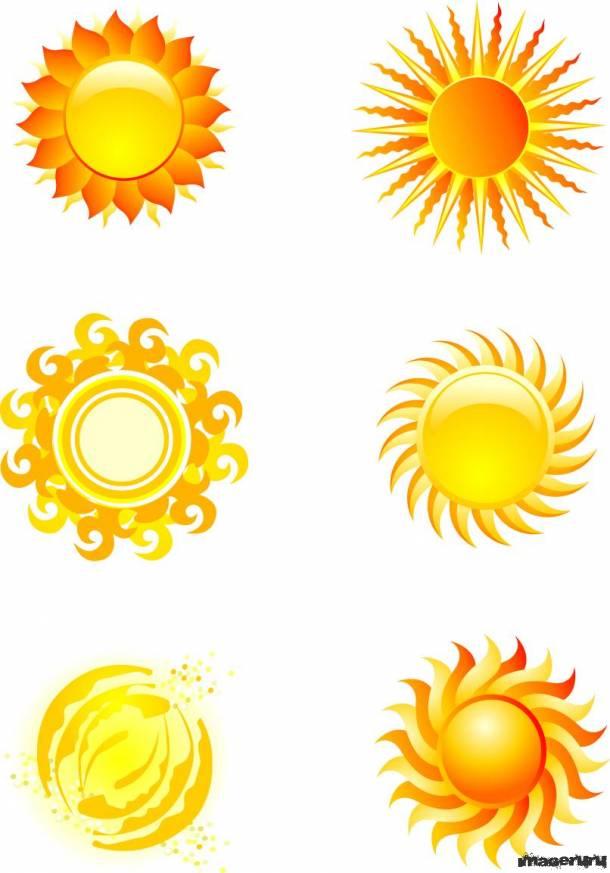 Солнце в векторе