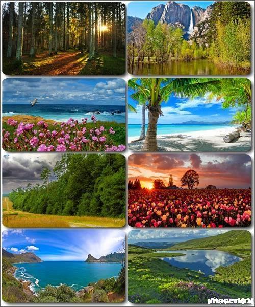 Потрясающие пейзажи природы 22