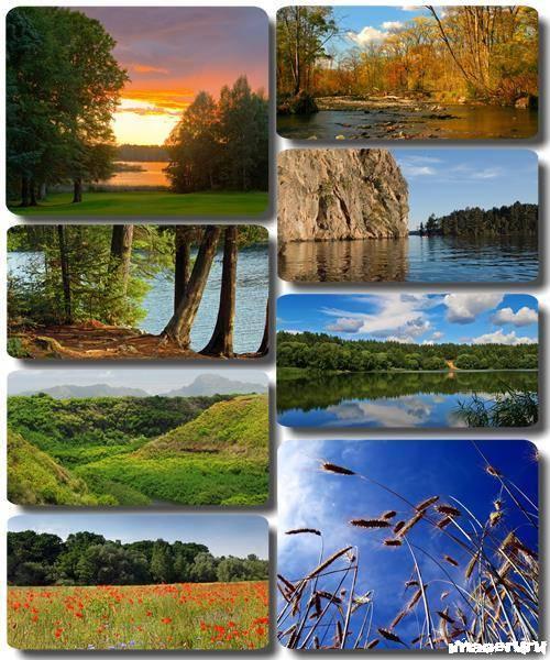 Потрясающие пейзажи природы 24