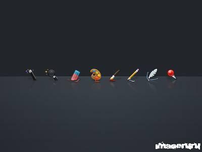 Иконки инструментов для сайта
