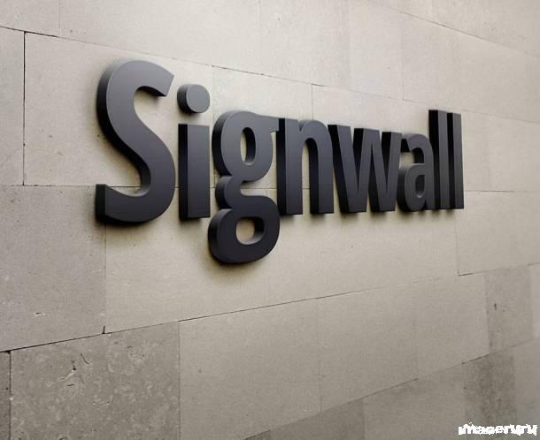3D логотип на стене