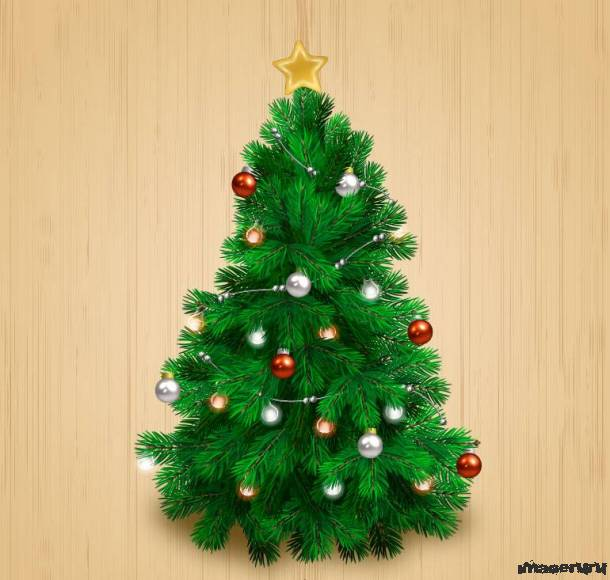 Реалистичная новогодняя елка