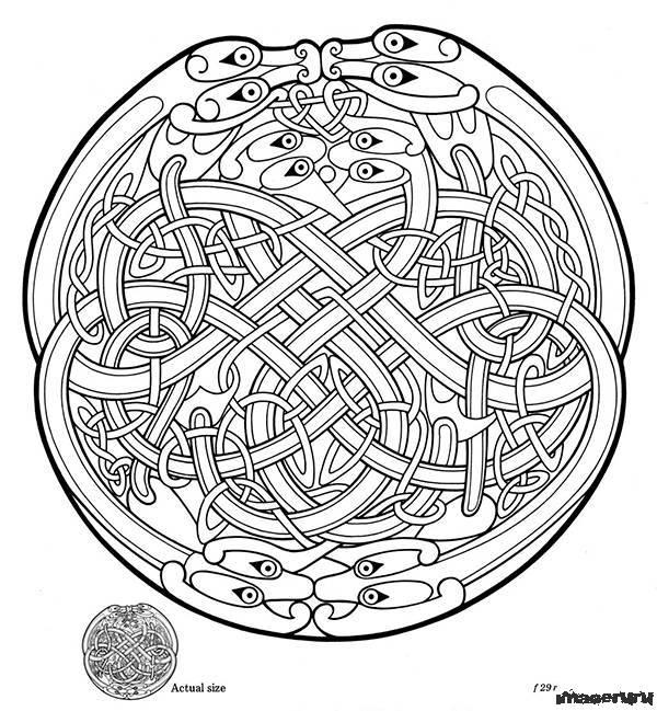 Татуировки - старинные кельтские орнаменты