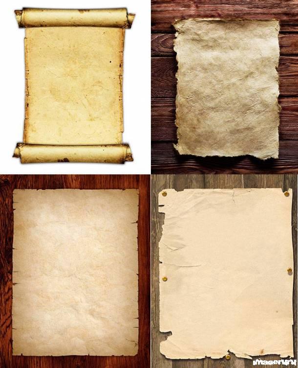 Старинная бумага - 8 текстур