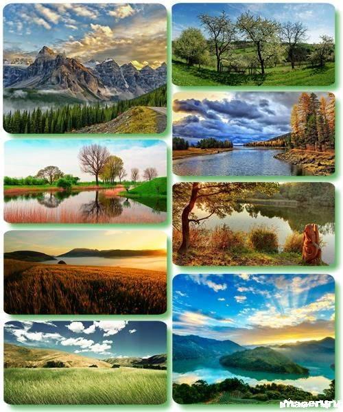 Потрясающие пейзажи природы 27