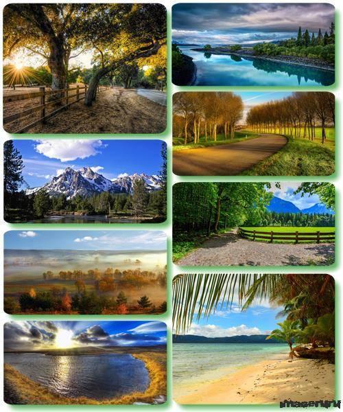 Потрясающие пейзажи природы 33