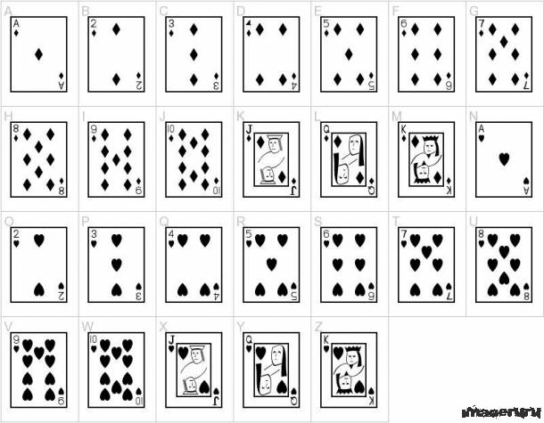 Набор визуальных шрифтов №3