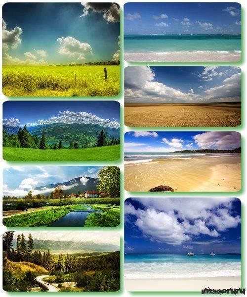 Потрясающие пейзажи природы 35