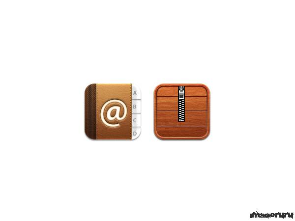 Две иконки