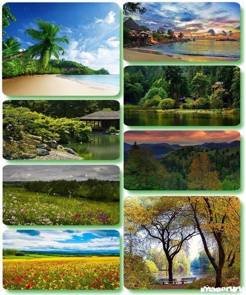 Потрясающие пейзажи природы 42