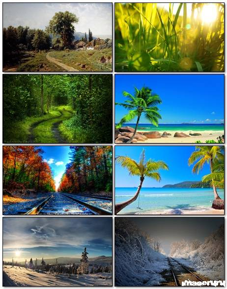 Nature Wallpapers Mix 16